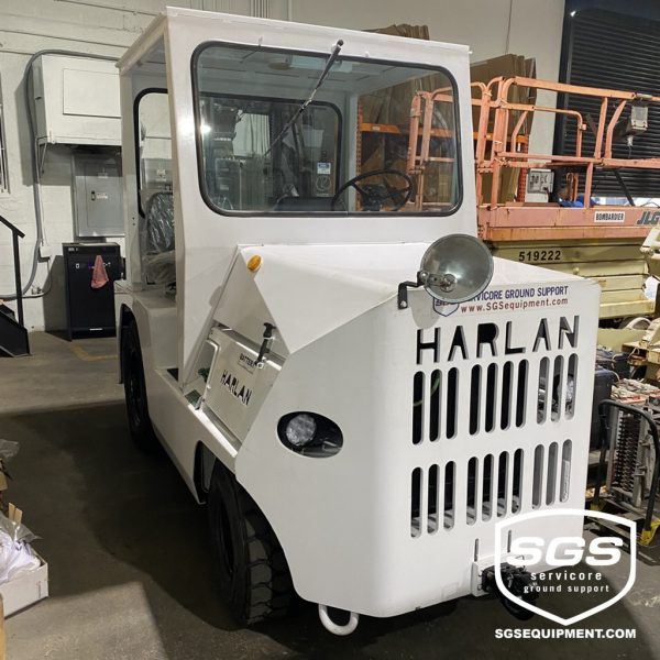 harlan HTA50 baggage tractor